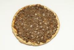 Pizza z mięsem Fotografia Royalty Free