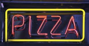 Pizza znak Zdjęcia Stock