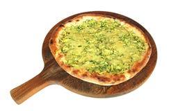 Pizza Zucchine e mozzarella Royalty Free Stock Photo