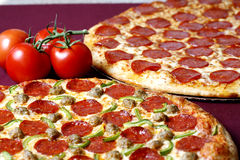 Pizzaabkommen Lizenzfreies Stockbild
