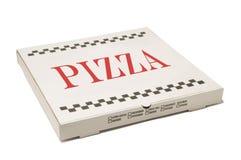 Pizzaanlieferungskasten Stockfotografie