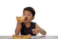 Pizzaboy Στοκ φωτογραφία με δικαίωμα ελεύθερης χρήσης