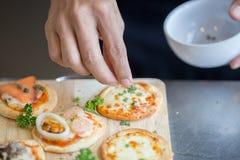 Pizzacheesycheese Stock Afbeelding