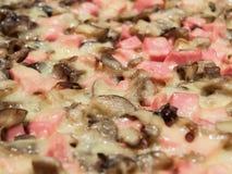 Pizzacloseup Arkivbild