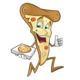 Pizzagedeelte Stock Afbeelding