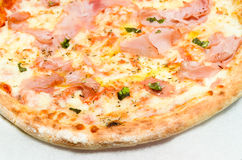 Pizzaham Royalty-vrije Stock Afbeeldingen