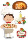 Pizzahuis Royalty-vrije Stock Afbeelding