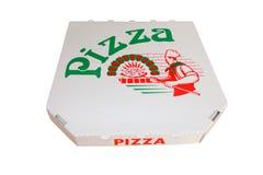 Pizzakarton Stockbild
