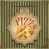 Pizzakennsatz Stockfoto