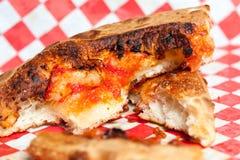 Pizzakorst Royalty-vrije Stock Foto