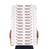 Pizzaleverans Arkivfoton
