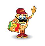 Pizzaman Stock Photography
