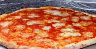Pizzamargherita Stock Afbeeldingen