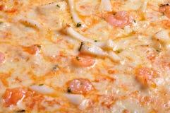 Pizzameeresfrüchte Lizenzfreie Stockbilder
