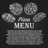 Pizzameny 5 Arkivbilder