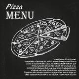 Pizzameny 4 Royaltyfri Foto