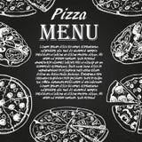 Pizzameny 2 Arkivfoto
