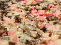 Pizzanahaufnahme Stockfotografie