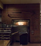 Pizzaofen in Santa Fe die Kapitolstadt des New Mexiko Stockfotos