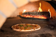 Pizzaoven Royalty-vrije Stock Afbeeldingen