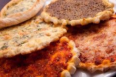 Pizzaplaat Stock Afbeeldingen