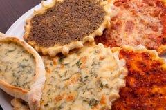 Pizzaplaat Royalty-vrije Stock Afbeelding
