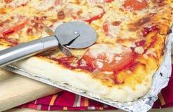 Pizzarad Stockfoto