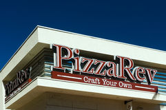 PizzaRev Restaurant Exterior Royalty Free Stock Images