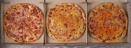 pizzas Fotografía de archivo