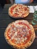 Pizzas de Napolitan imagen de archivo