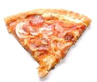 Pizzascheibe Lizenzfreie Stockbilder