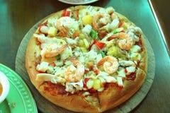 Pizzaskaldjur Arkivfoto