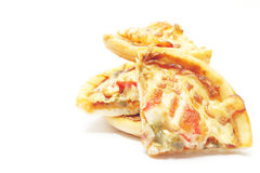 Pizzaskivor Royaltyfri Bild