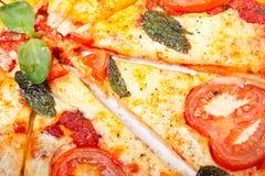 pizzaskivor Royaltyfri Foto