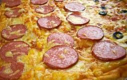 Pizzastreifen Stockbild