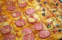 Pizzastreifen Lizenzfreie Stockbilder