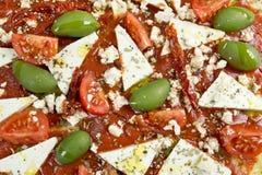Pizzastrenger vegetarier Lizenzfreie Stockbilder