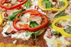 Pizzatoppningar Arkivfoton
