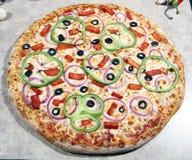 pizzavegetarian Royaltyfria Foton
