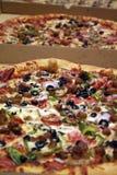 Pizze Fotografia Stock Libera da Diritti