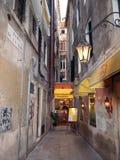 Pizzería de Venecia Imagen de archivo libre de regalías