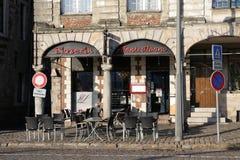 Pizzeria σε Arras, Γαλλία Στοκ φωτογραφία με δικαίωμα ελεύθερης χρήσης