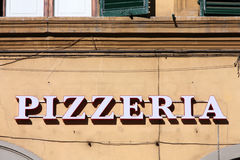 Pizzeria Royalty Free Stock Images