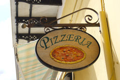 pizzeria Obraz Royalty Free