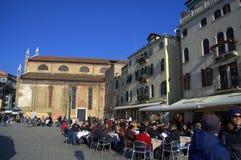 Pizzeria de place de Venise Images libres de droits