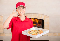 Pizzeria Royalty Free Stock Photo