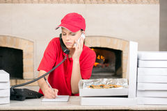 Pizzeria Royalty Free Stock Photography