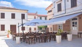 Pizzeria. Fazana, Croatia Stock Image