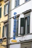Pizzeria italiana tradizionale in Italia Fotografia Stock Libera da Diritti