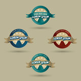 Pizzeria logo concept. Logo concept for pizzeria or fast food restaurant royalty free illustration